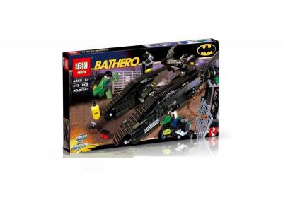 Конструктор Super Heroes «Бэттанк: Ридлер и Убежище Бэйна» (Lepin 07067)