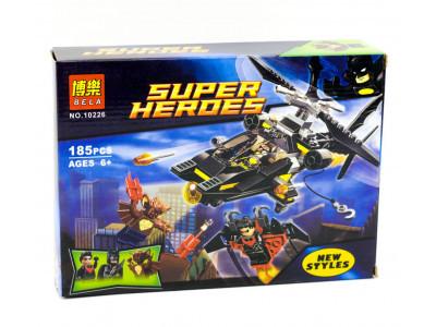 Конструктор Super Heroes «Атака Мэн-Бэта» (Bela 10226)