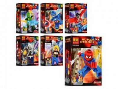 Набор 6 минифигурок Super Heroes «Мстители» (Bela 10242-10247)
