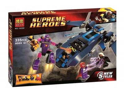 Конструктор Super Heroes «Люди Икс против Стража» (Bela 10250)