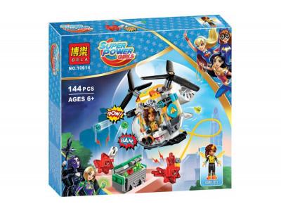 Конструктор Super Heroes Girls «Вертолет Бамблби» (Bela 10614)
