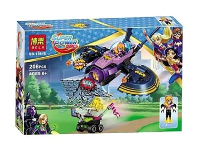 Конструктор Super Heroes Girls «Бэтгерл: Погоня на реактивном самолете » (Bela 10615)
