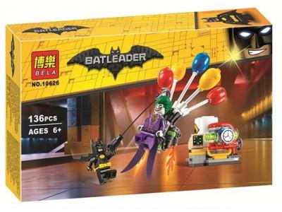 Конструктор Бэтмен «Побег Джокера на воздушном шаре» (Bela 10626)