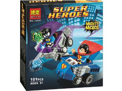 Конструктор Super Heroes «Супермен против Бизарро» (Bela 10667)