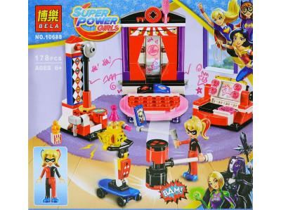 Конструктор Super Heroes Girls «Дом Харли Квинн» (Bela 10688)