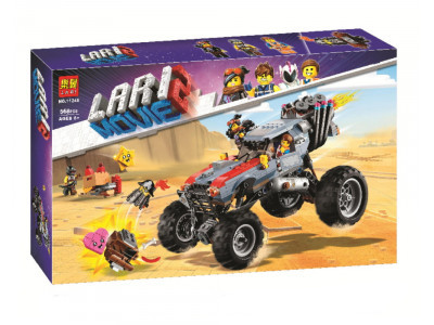 Конструктор Super Heroes «Побег Эммета и Дикарки на багги» (Lari 11248)