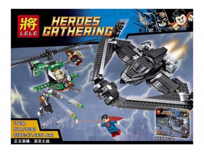 Конструктор Super Heroes «Поединок в небе» (Lele 79292)