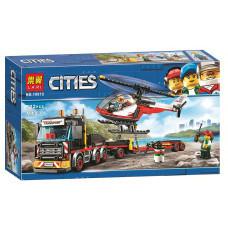 Конструктор City «Перевозчик вертолета» (Bela 10872)