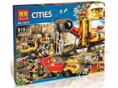 Конструктор City «Шахта» (Lari 10876)