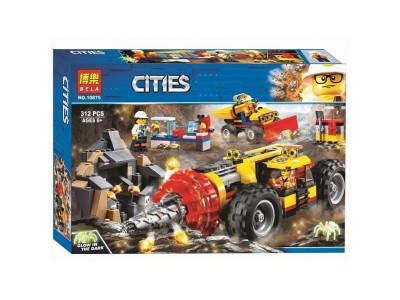 Конструктор City «Тяжелый бур для горных работ» (Lari 10875)