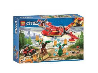Конструктор City «Пожарный самолёт» (Lari 11214)