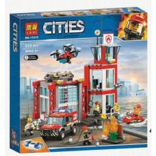Конструктор City «Пожарное депо» (Lari 11215)