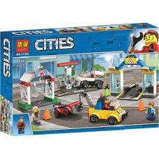Конструктор City «Автостоянка» (Lari 11391)