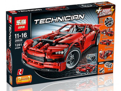 Конструктор Техник «Суперавтомобиль (Super car)» (Lepin 20028)