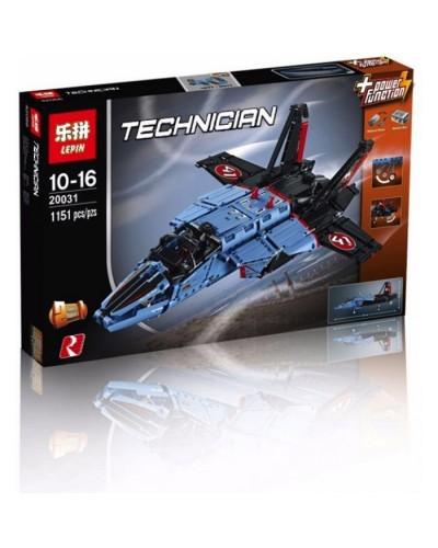 Конструктор Техник «Сверхзвуковой истребитель 2 в 1» (Lepin 20031)