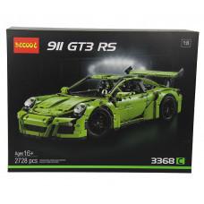 Конструктор Техник «Porsche 911 GT3 RS», зеленый (Decool 3368C)