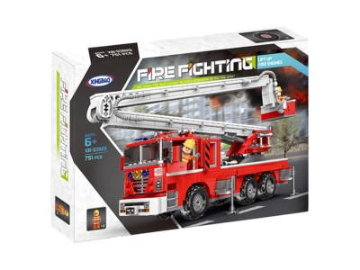 Конструктор Техник «Пожарная машина с лестницей» (Xingbao XB-03029)