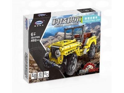 Конструктор Техник «Желтый Jeep Wrangler Offroad» (Xingbao XB-07006)