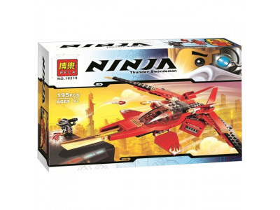 Конструктор Ниндзяго «Истребитель Кая» (Bela 10219)