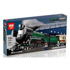 Конструктор Train «Поезд Изумрудная ночь» (Lepin 21005)