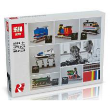 Конструктор Train «Юбилейные поезда: 50 лет в пути» (Lepin 21029)