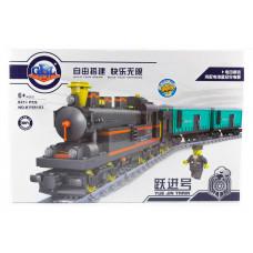 Конструктор Train «Классический грузовой поезд» (Kazi KY98103)