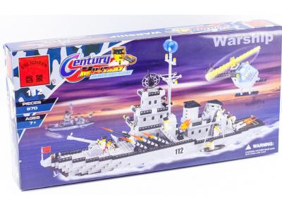 Конструктор «Военный корабль» (Brick 112)