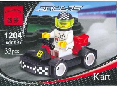 Конструктор Rasers «Гоночный Карт» (Brick 1204)