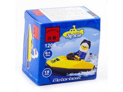 Конструктор Pigboat «Катер аквалангиста» (Brick 1209)