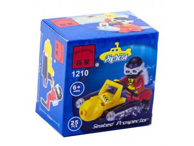 Конструктор  «Подводный скутер» (Brick 1210)