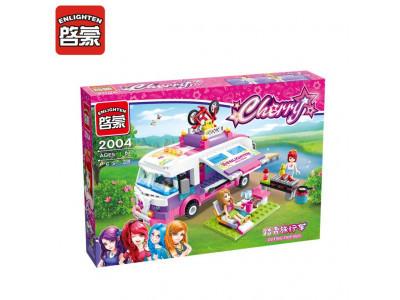 Конструктор Cherry «Автобус для пикника» (Brick 2004)