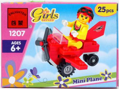 Конструктор Girls «Мини-Самолет» (Brick 1207)