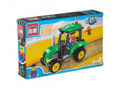 Конструктор City «Трактор» (Brick 1102)