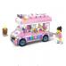 Конструктор City «Фургон с мороженым» (Brick 1112)