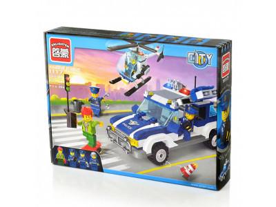 Конструктор City «Полицейский патруль» (Brick 1117)