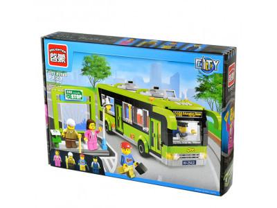 Конструктор City «Автобус с остановкой» (Brick 1121)