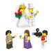Конструктор City «Свадебная церемония» (Brick 1129)