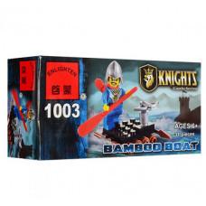 Конструктор Knights «Бамбуковый плот» (Brick 1003)