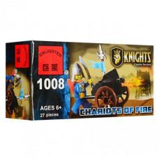 Конструктор Knights «Огненные колесницы» (Brick 1008)