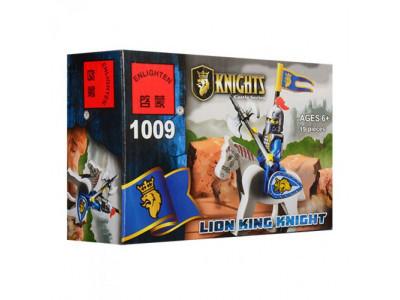 Конструктор Knights «Рыцарь Король Лев» (Brick 1009)