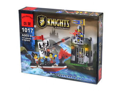 Конструктор Knights «Налет на темницу» (Brick 1017)