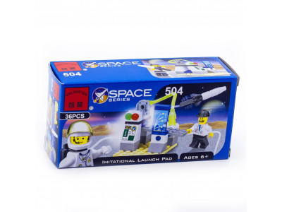 Конструктор Space «Пульт управления полетом» (Brick 504)