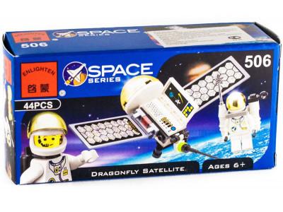 Конструктор Space «Мини-звездолет-спутник» (Brick 506)