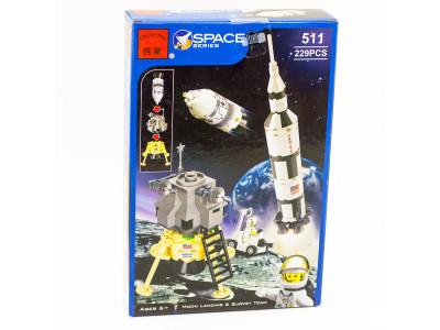 Конструктор Space «Лунная экспедиция» (Brick 511)