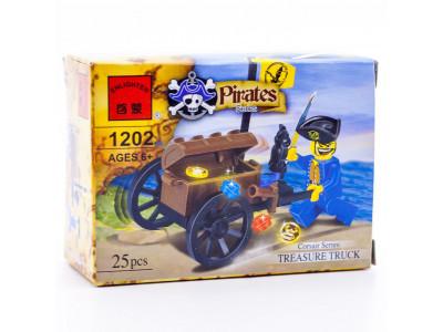 Конструктор Пираты «Пират с сокровищами» (Brick 1202)