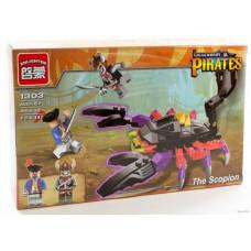 Конструктор Пираты «Гигантский скорпион» (Brick 1303)
