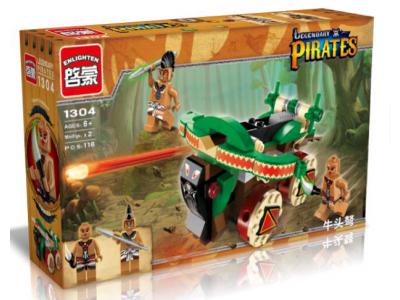 Конструктор Пираты «Катапульта пиратов» (Brick 1304)