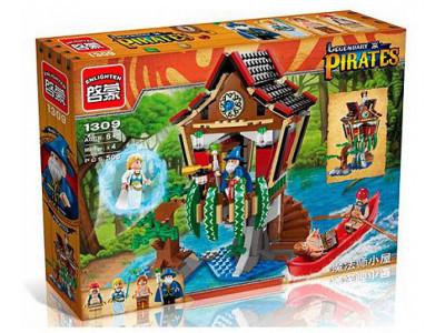 Конструктор Пираты «Хижина чародея» (Brick 1309)