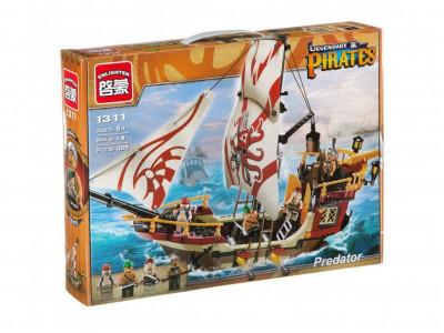 Конструктор Пираты «Пиратский корабль» (Brick 1311)