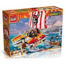 Конструктор Пираты «Боевая черепаха пиратов» (Brick 1312)